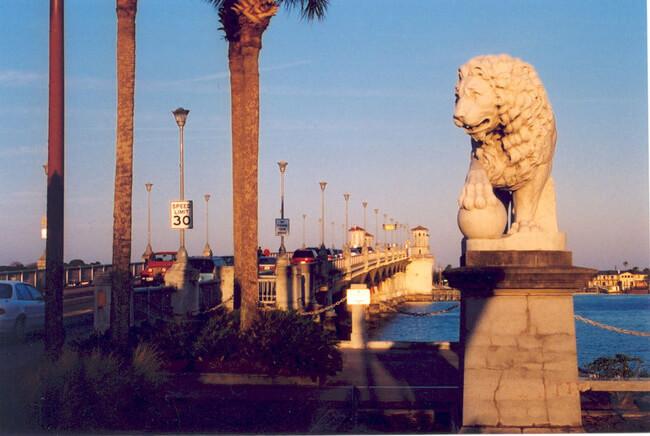 A.E. Crane, Bridge of Lions, St. Augustine, Florida, 2006.