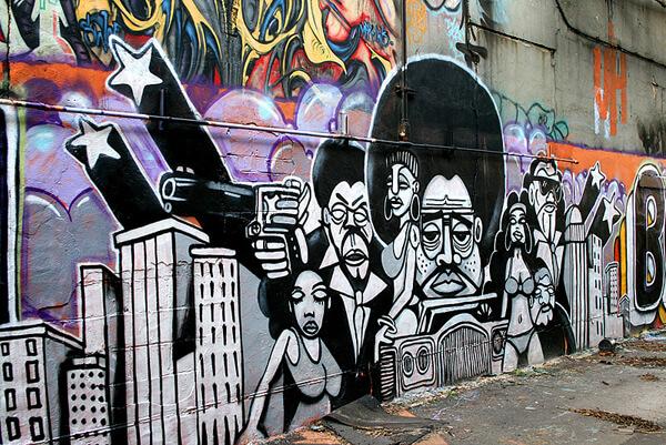 Amie Vanderford, Funky Graffiti Art, Memphis, Tennessee, 2008.
