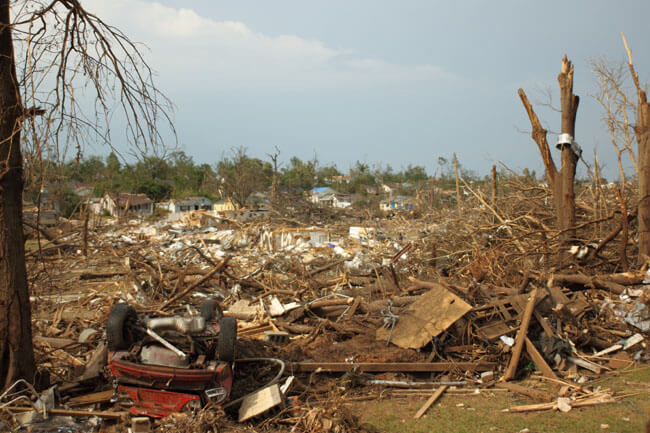 Glenn Guy, Tuscaloosa tornado, Tuscaloosa, Alabama, 2011. Copyright Glenn Guy Photography.