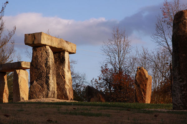 J.J. Henderson, Kentucky Stonehenge, Munfordville, Kentucky, 2009.