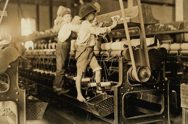 Lewis Wickes Hine, Mill Children, Macon, Georgia, 1909
