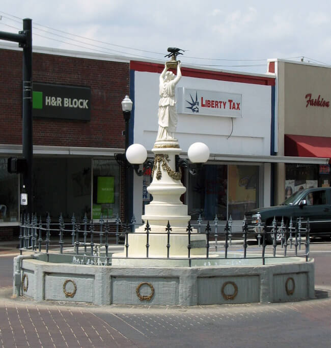 Andy Callahan, Boll Weevil Monument, Enterprise, Alabama, 2010