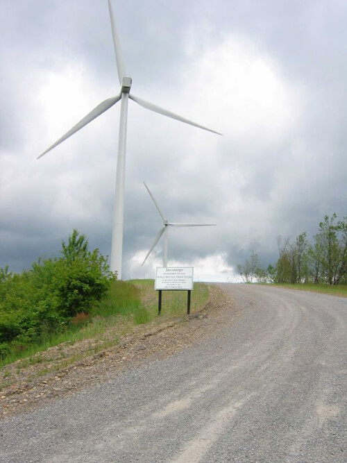 Janet Powell, Buffalo Mountain Windfarm, Anderson County, Tennessee, 2005