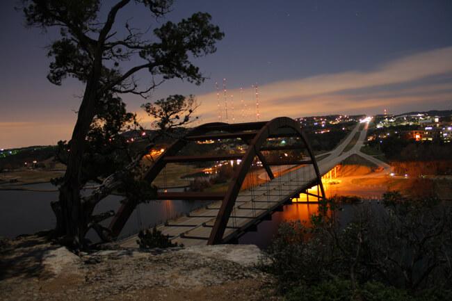 Jared Tennant, Pennybacker Bridge, Austin, Texas, 2010