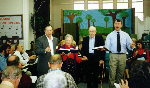 David I. Lee, All-Day Sing at Hoboken School, Hoboken, Georgia, 1996.