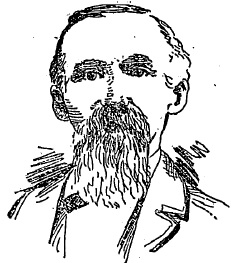 "Sketch of Julius Hartman From ""A Born Genius, The Artistic Accomplishments of Mr. Julius Hartman"" Atlanta Constitution (August 31, 1890) p. 8."