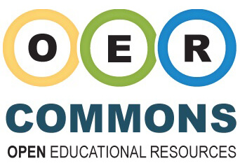 OER Commons logo, December 12, 2017. Courtesy of OER Commons. Creative Commons License CC BY-NC-SA 3.0.