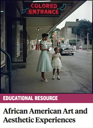 Southern Spaces African American Art and Aesthetic Experiences Educational Resource, December 12, 2017. Screenshot courtesy of Southern Spaces.
