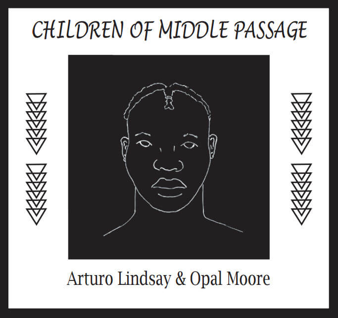 Children of the Middle Passage by Arturo Lindsay & Opal Moore, cover page from unpublished manuscript.