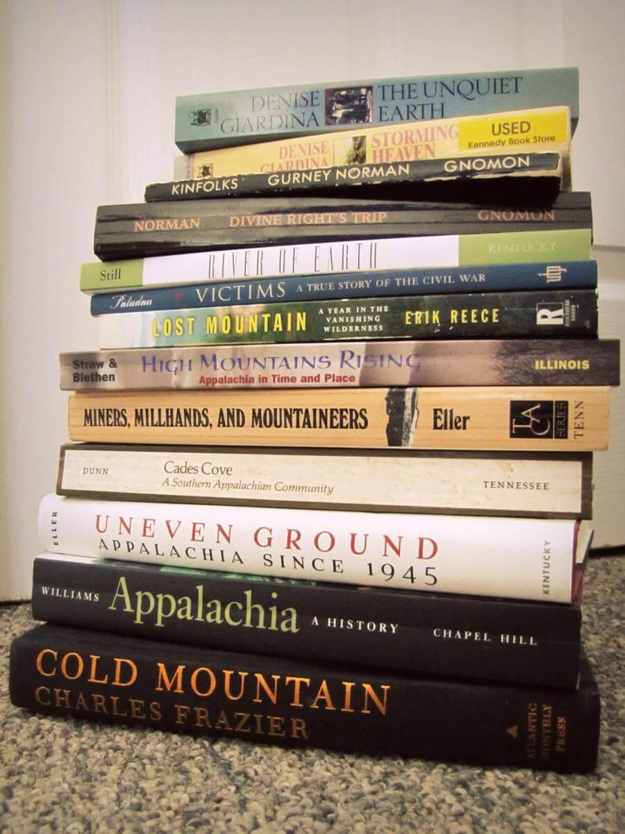 Appalachian literature, Lexington, Kentucky, January 13, 2011. Photograph by Flickr user Sarah Altendorf. Creative Commons license CC BY-NC 2.0.