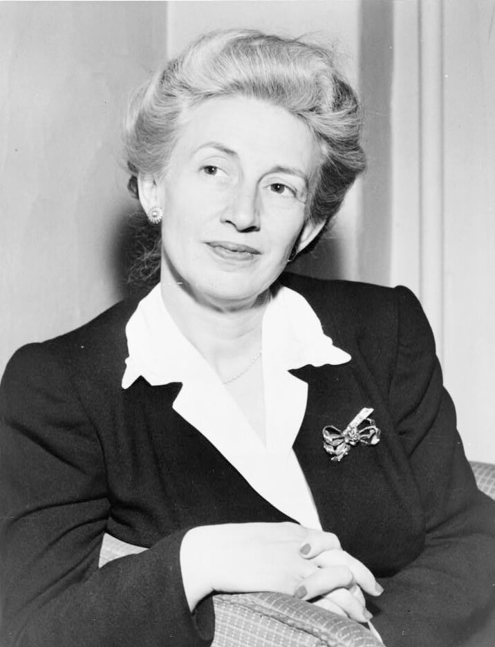 Lillian Eugenia Smith, ca. 1944. Photograph by C. M. Stieglitz. Courtesy of the Library of Congress Prints and Photographs Division, loc.gov/resource/cph.3c09699.