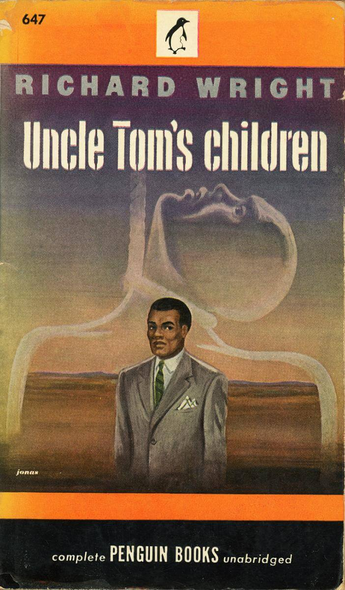 Cover of Richard Wright's Uncle Tom's Children (Penguin, 1947 edition), December 1, 2015. Photograph by Flickr user Make It Old. Creative Commons license CC BY-NC-SA 2.0.