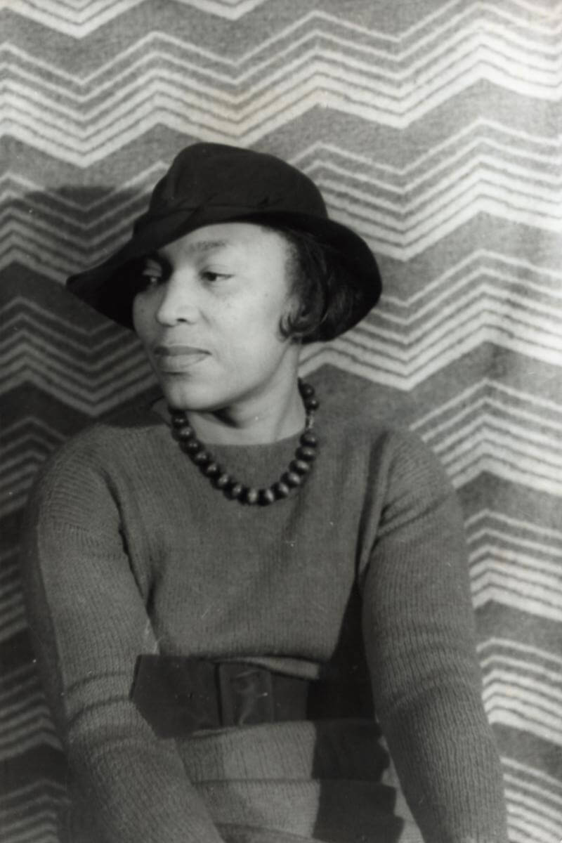 Portrait of Zora Neale Hurston, April 3, 1938. Photograph by Carl Van Vechten. Courtesy of the Library of Congress Prints and Photographs Division,  loc.gov/pictures/resource/van.5a52142.