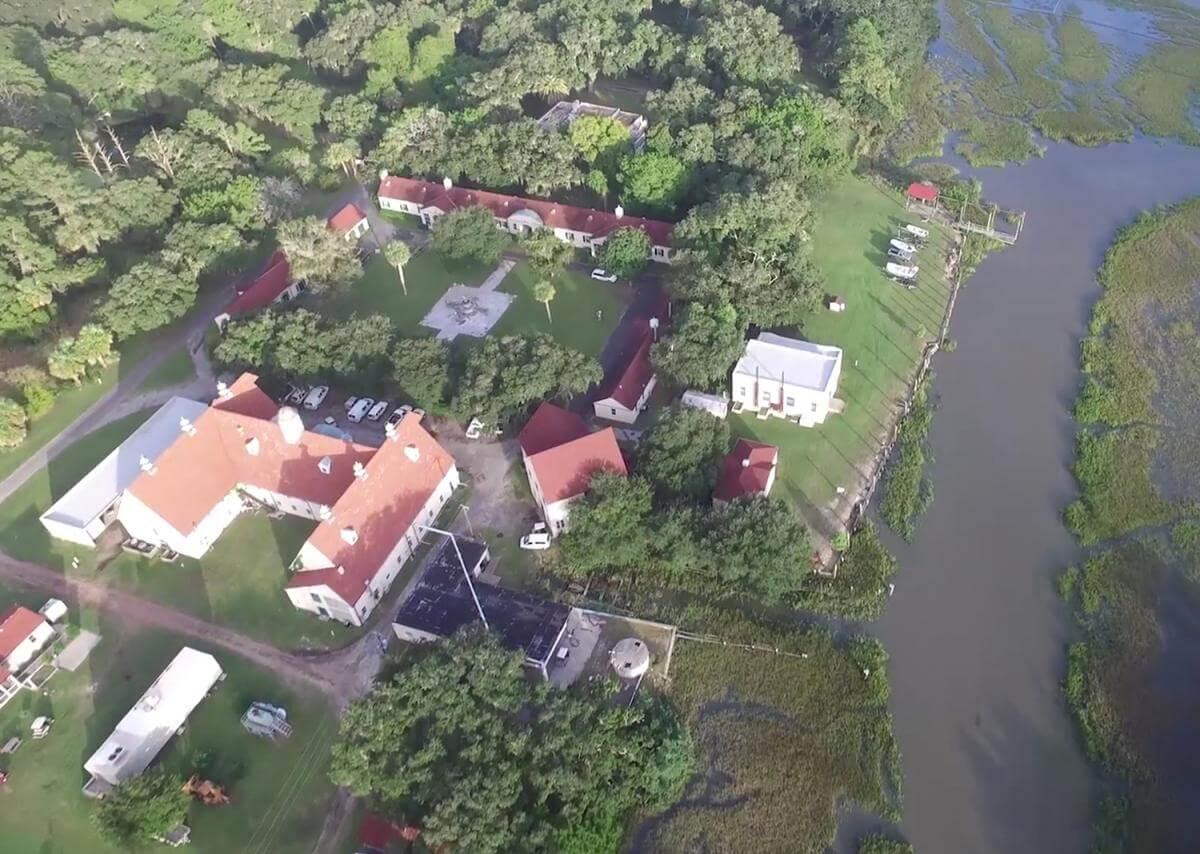 The UGAMI complex on Sapelo Island, Georgia, 2015. Screenshot courtesy of Southern Spaces.