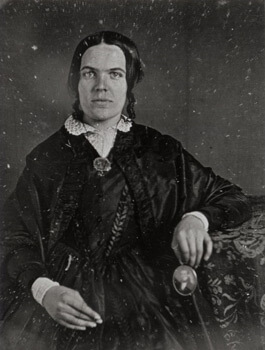 Dolly Lunt Burge, whose diary is in the exhibit, wrote about the Battle sounds she could hear from her home in Covington, Georgia. Courtesy Civil War collections, MARBL, Emory University.