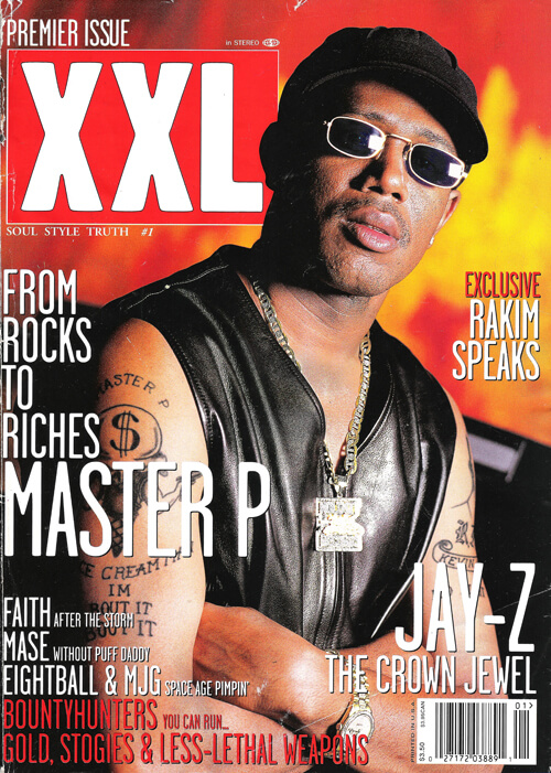 Master P on the cover of XXL Magazine, Vol. 1, Issue 1, 1997.