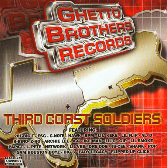 Album cover for Third Coast Soldiers by Ghetto Brothers. (Starzmusic, 2003).