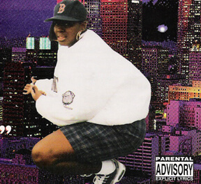 Album cover for F**k Bein' Faitful by Cheeky Blakk. (Tombstone, 1996).