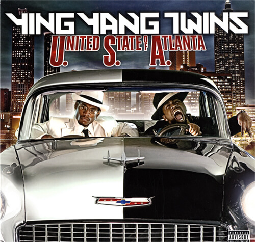 Album cover for United States of Atlanta by Ying Yang Twins. (TVT Records, 2005).