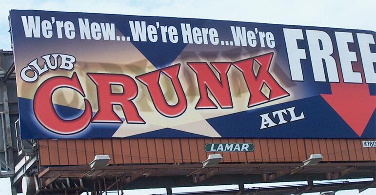 Billboard, Memorial Drive and Midway Road, Atlanta, 2006.