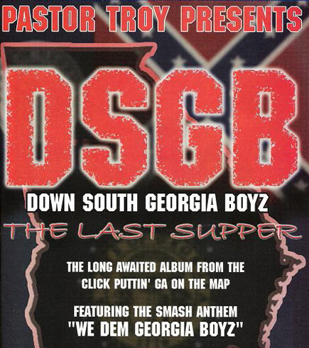 Promotional image for The Last Supper by the Down South Georgia Boyz. (Khaotic Generation Records, 2001).