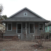 1005–1007 Jourdan Avenue. Holy Cross, New Orleans, Louisiana, November 4, 2005. Photograph by Ian J. Cohn. © Ian J. Cohn.