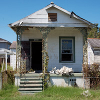 1608 Forstall Street, Lower Ninth Ward, New Orleans, Louisiana, September 26, 2006. Photograph by Ian J. Cohn. © Ian J. Cohn.