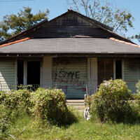 1618 Forstall Street, Lower Ninth Ward, New Orleans, Louisiana, September 26, 2006. Photograph by Ian J. Cohn. © Ian J. Cohn.
