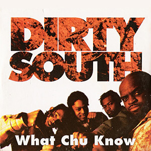 "Cover of the CD single for the 1996 song ""Dirty South"" by Atlanta-based group, The Goodie Mob. © The Goodie Mob. From ""Dirty Decade: Rap Music and the US South, 1997–2007,"" by Matt Miller."