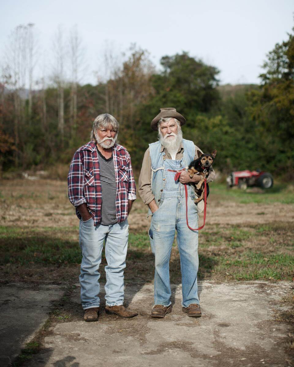 Figure 7: Brothers Ralph and Robert, Pickens, Pickens County, South Carolina, November 4, 2014. Photograph by Elle Olivia Andersen. http://lookingatappalachia.org/south-carolina#/id/i9215402.