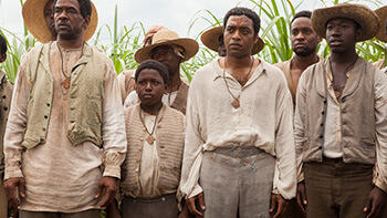 Chiwetel Ejiofor as Solomon Northup, 2013. © FoxSearchlight.
