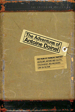 The Criterion Collection's packaging for The Adventures of Antoine Doinel, featuring Truffaut's five films following the titular character played by Jean-Pierre Leaud, 2003. Richard Linklater has already confirmed that Boyhood will be released through the boutique DVD label.