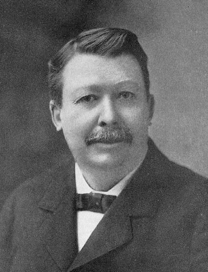 Joel Chandler Harris, ca. 1895. Courtesy of Wikimedia Commons. Image is in public domain.
