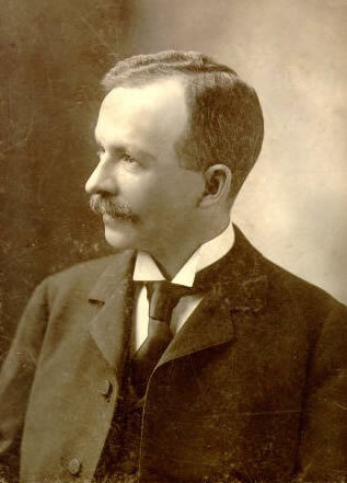 Charles Chesnutt, 1898. Courtesy of Wikimedia Commons. Image is in public domain.