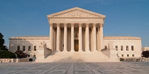 Supreme Court building in Washington, D.C., June 7, 2009. Photograph by Mark Fischer. Courtesy of Mark Fischer.