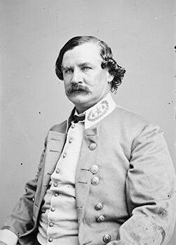 Confederate Major General Benjamin F. Cheathem, ca. 1865. Wet collodion.