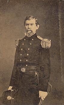 Lieutenant William J. Hardee, corp commander, Army of Tennessee. Carte de visite, albumen print.