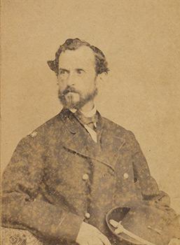 Union Brigadier General Manning F. Force. Carte de visite, albumen print.