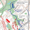 4 p.m., July 22, 1864. Battle of Atlanta map by Michael Page, 2014.