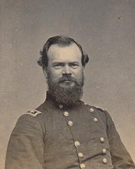 Union Major General James B. McPherson. Carte de visite, albumen print.