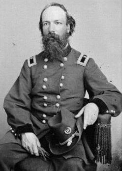 Union Brigadier General John W. Fuller, ca. 1865.