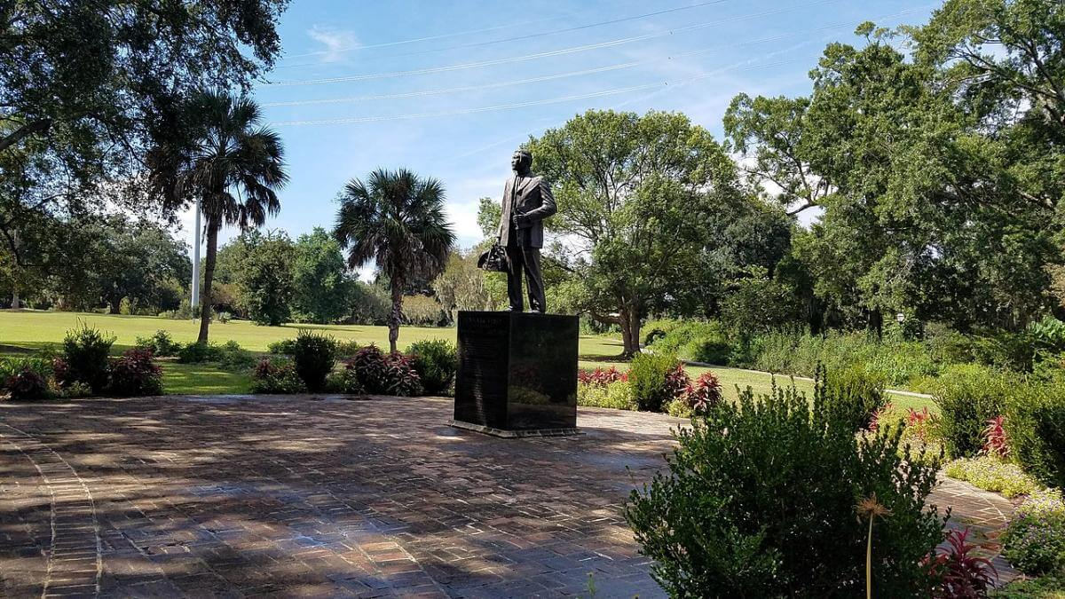 Denmark Vesey Monument, Hampton Park, Charleston, South Carolina, September 29, 2018. Photograph by Brenda J. Peart. Courtesy of Wikimedia Commons. Creative Commons license CC BY-SA 4.0.