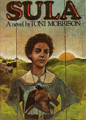 Cover, Toni Morrison's Sula.