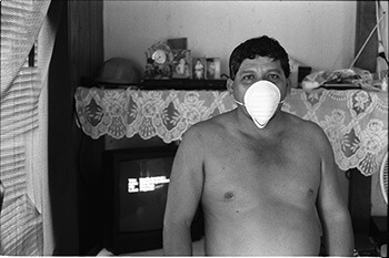 Injured worker, Madison County, Mississippi, 2004. Photograph by John Fiege. Courtesy of John Fiege.