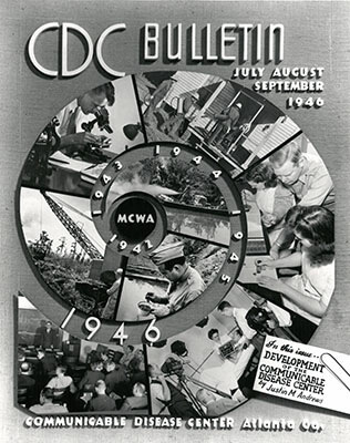 CDC Bulletin, July, August, September, 1946. Courtesy of MARBL, Emory University.