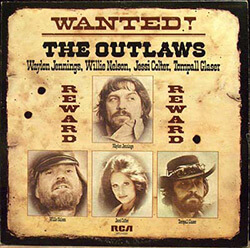 Wanted! The Outlaws, 1976. Album Cover. RCA Victor. © RCA Victor.