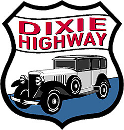 Logo for the Georgia Dixie Highway Association and 90-mile Yard Sale. © Dixie Highway 90-Mile Yard Sale, 2015.
