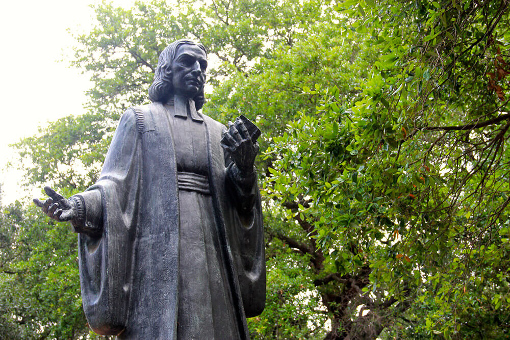 John Wesley statue, Savannah, Georgia, June 10, 2013. Photograph by Flickr user Daniel X. O'Neil. Creative Commons license CC BY 2.0.