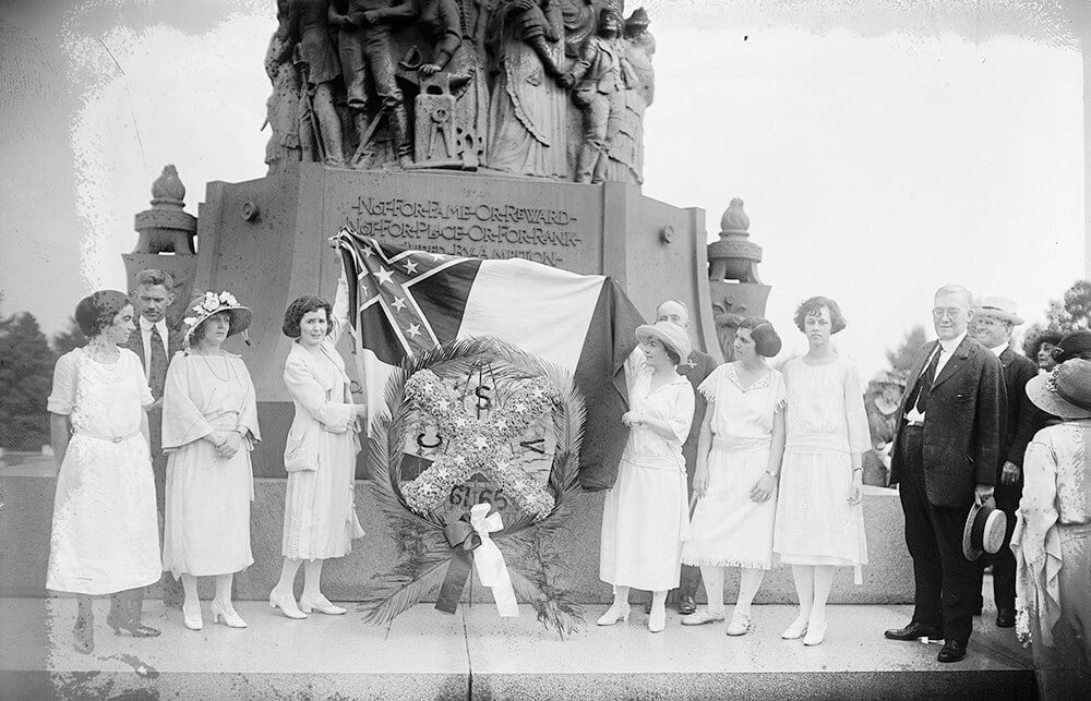Confederate memorial services, Arlington National Cemetery, Arlington, Virginia, June 5, 1922. Photograph courtesy of the Library of Congress Prints and Photographs Division, www.loc.gov/pictures/resource/npcc.23047/.