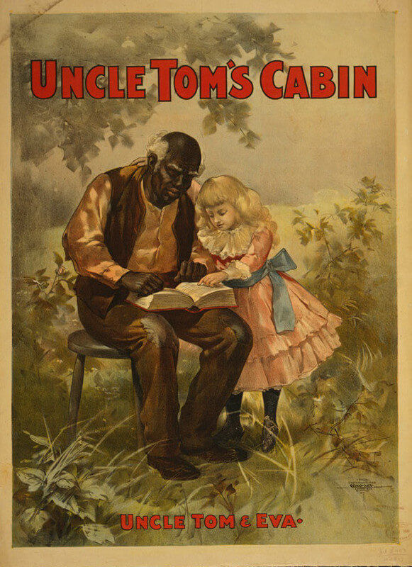 Uncle Tom and Eva, 1899. Theatrical poster by Courier Lithograph Company. Courtesy of the Library of Congress Prints and Photographs Division, www.loc.gov/resource/cph.3g10315/.